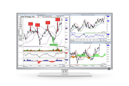 Chart analysis with the charting software TAI-PAN End-of-Day